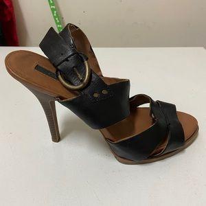Calvin Klein Jeans Women's Steph Leather Sandal